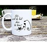 Mug chat, mug humour, Mug personnalisé, Mug original, tasse à café