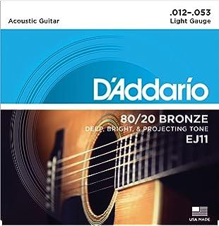 DAddario EJ11x5 (5 sets) Acous Guit Strings, 80/20 Brnz