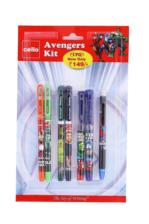Avengers pencil case set