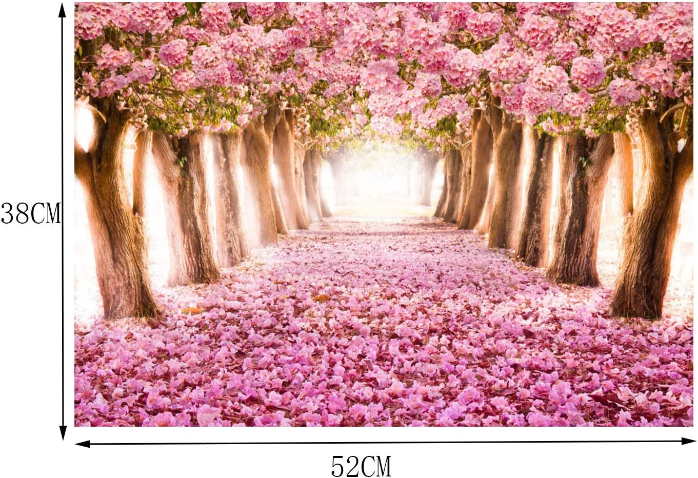 Pink Sakura Puzzles-Fun Game Gifts for Teens and Kids SweatDance Jigsaw Puzzles for Adults 500 Piece
