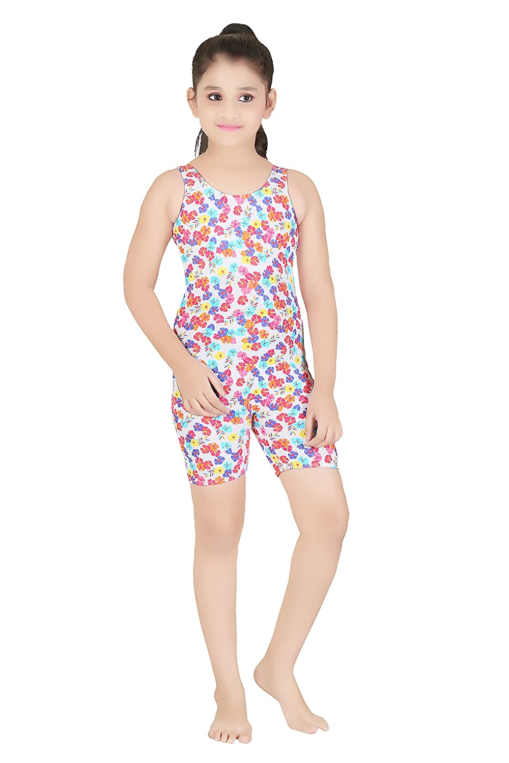 a488d03343 Fashion Fever One Piece Swim Suits for Girls: Amazon.in: Clothing &  Accessories