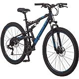 Schwinn S29 Mens Mountain Bike, 29-Inch Wheels, 18-Inch/Medium Aluminum Frame, Dual-Suspension, Mechanical Disc Brakes…
