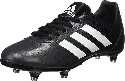 uk availability new collection classic shoes adidas All Blacks J SG Chaussures de Rugby Mixte Enfant, Noir ...