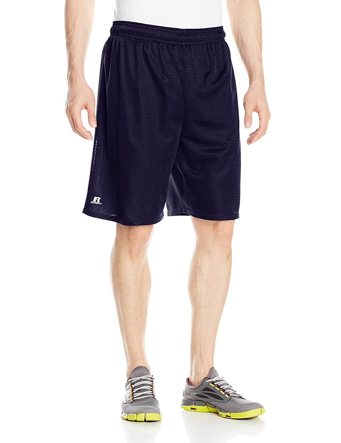 Russell Athletic Men's Mesh Shorts (No Pockets), Navy, 3X-Large 659AFMK