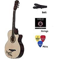Medellin MED-NAT-C Linden Wood Acoustic Guitar