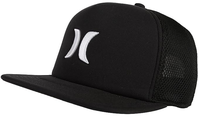 Amazon.com  Hurley Men s Blocked 2.0 Trucker Cap Black One Size ... 7d61b104b08b