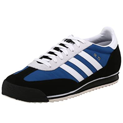 ADIDAS Running Shoe SL 72 Black Blue Black Blue