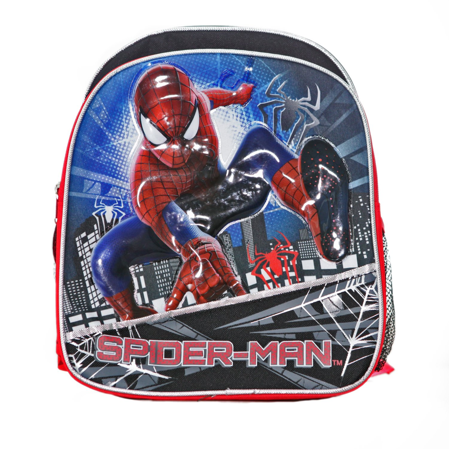 Small Backpack - Marvel - Spiderman 2 Spider Building New 612016 B00JN1L4IO
