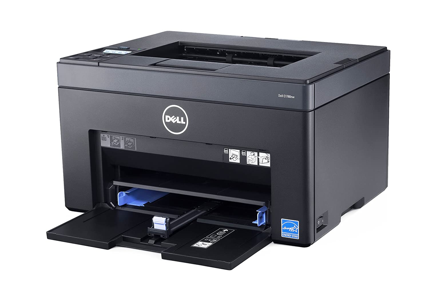 Color printers laser - Dell 210 41094 Color Printer C1760nw Printer Colour Led A4 Legal 600 Dpi Up To 15 Ppm Mono Up To 12 Ppm Colour Capacity 150 Sheets