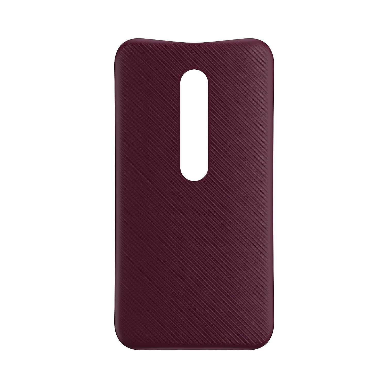 Motorola Shells - Carcasa para Motorola Moto G 3ª generación, color negro