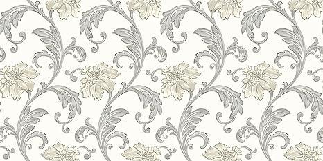 Norwall Jc20062 Floral Scroll Wallpaper Amazon Com