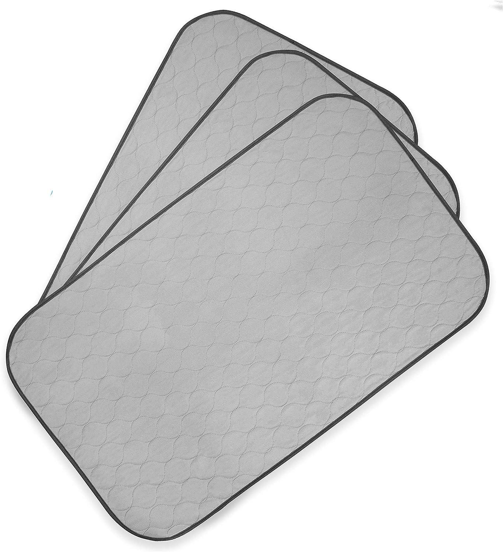 PET MAGASIN Toallitas de Entrenamiento para Mascotas, Paquete de 3, Almohadilla de Entrenamiento Lavable y Reutilizable (M)