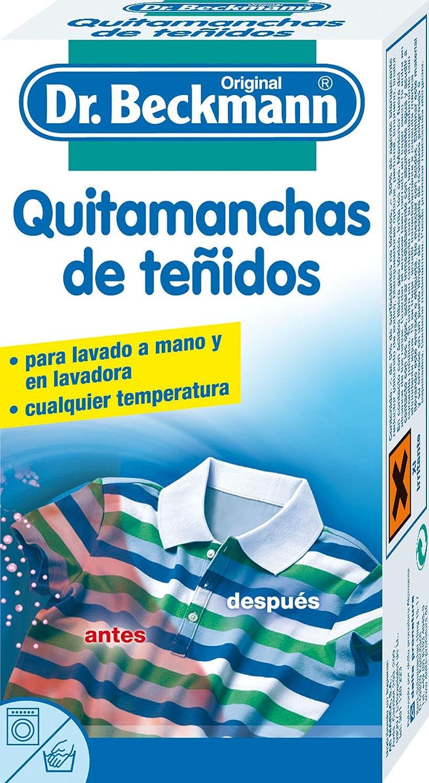 Dr.Beckmann - Quitamanchas de teñidos: Amazon.es: Alimentación y ...