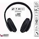 Ubon BT-5800 Wireless/Bluetooth Headset with Mic (Black)