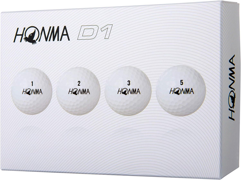 Honma D1 Golf Balls 1 Dozen White