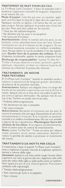 Peter Thomas Roth Lashes To Die For Turbo Nighttime Eyelash Treatment 4.7ml: Amazon.es: Belleza