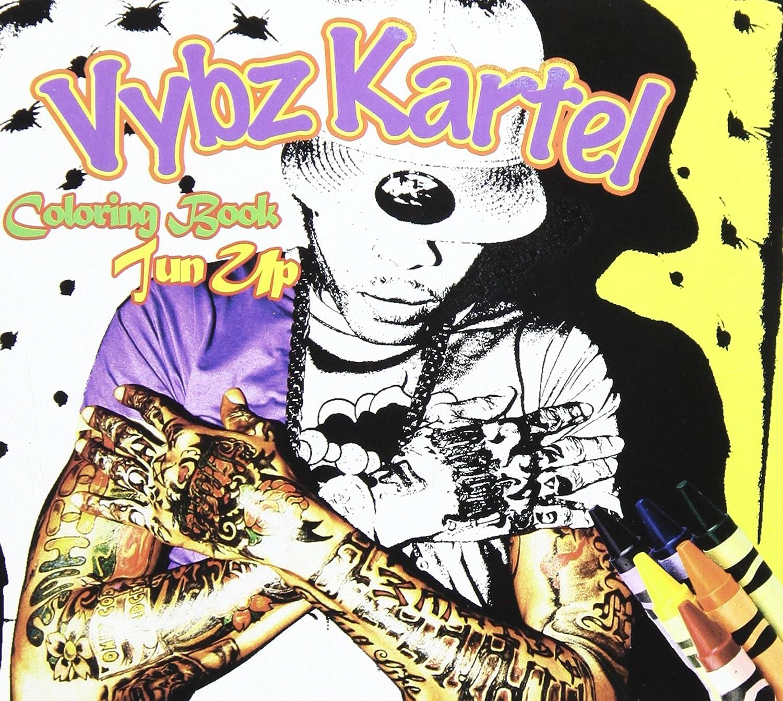 Vybz Kartel Coloring Book Tun Up Amazon Music