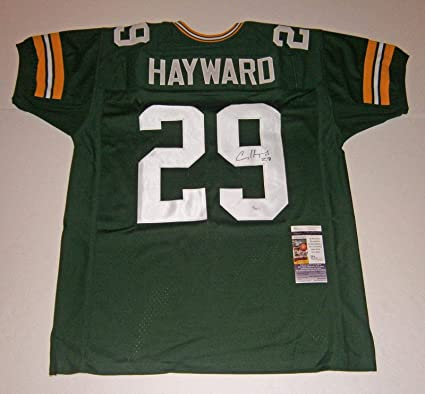 Image Unavailable. Image not available for. Color  Casey Hayward  Autographed Jersey ... 5034f46b6