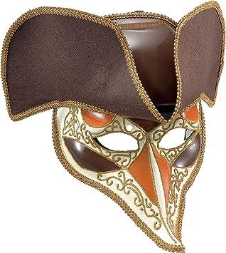 Deluxe Highwayman Mask /& Hat Adult Venetian Masquerade Fancy Dress Accessory
