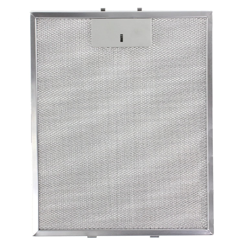Pack de 3 filtros, Plata, 320 x 260 mm Spares2go Malla Met/álica Filtro para Bosch Neff Siemens Campana extractora//extractor ventilaci/ón