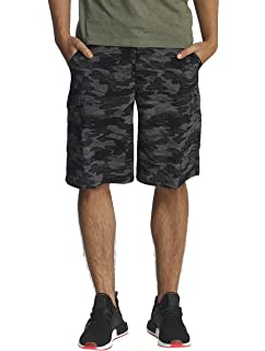34ca9608acb7d Amazon.com  Columbia Men s Silver Ridge Printed Cargo Shorts  Sports ...