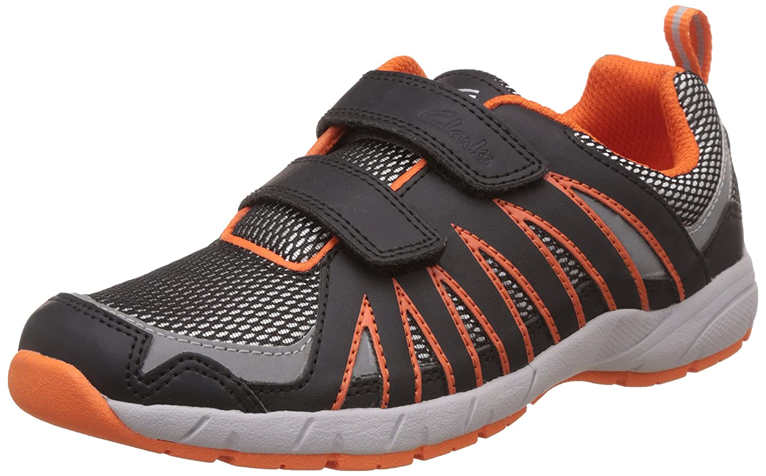 9b06cfd7031a Clarks Baby Boys Cross Hype Jnr 1-4 Years Indian Shoes  Buy Online at Low  Prices in India - Amazon.in