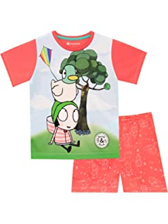 Sarah and Duck Girls Pyjamas Sleepwear Ages 18 Months 2 3 4 5 Years