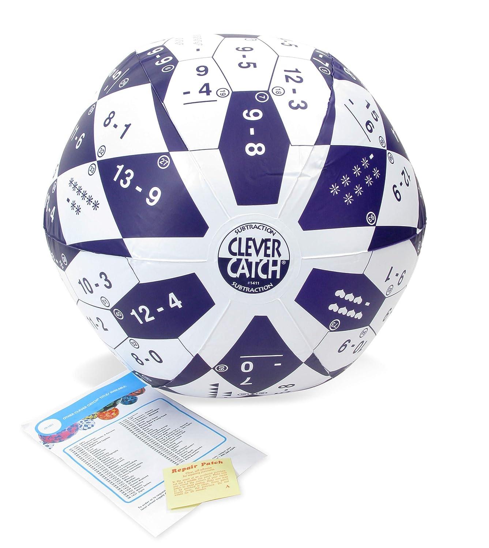 American Educational Vinyl Pre Algebra-1 Clever Catch Ball 24 Diameter