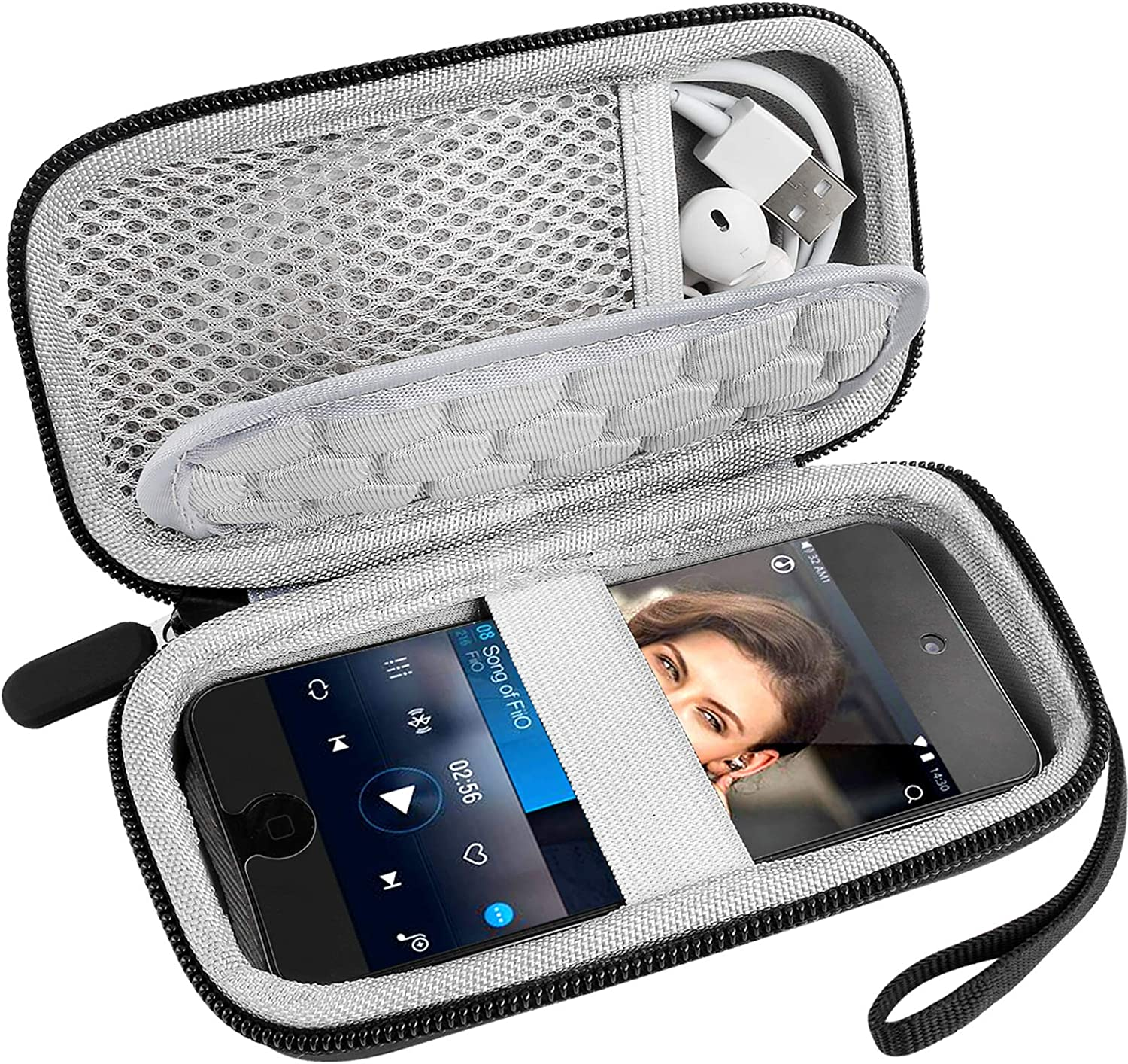 MP3 MP4 Player Cases Compatible with iPod Touch and Mibao MP3 Player? Soulcker?Sandisk MP3 Player?G.G.Martinsen?Grtdhx?Sony NW-A45?B Walkman with Earphones, USB Cable, Memory Cards (Box Only)