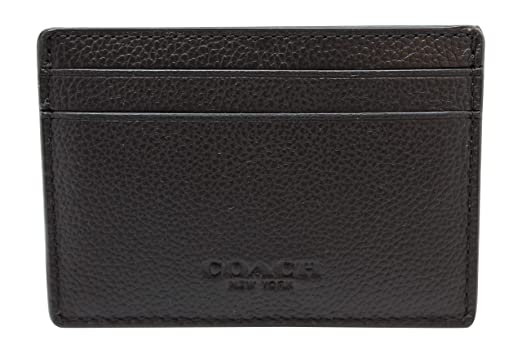cb2f9dcbef99a Image Unavailable. Image not available for. Color  Coach Mens Money Clip Card  Case in sport calf leather ...