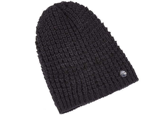 5d16d581cfb ZOWYA Classic Warm Winter Hats Knit Cuff Beanie Cap Daily Beanie Hat for Men  Women Black