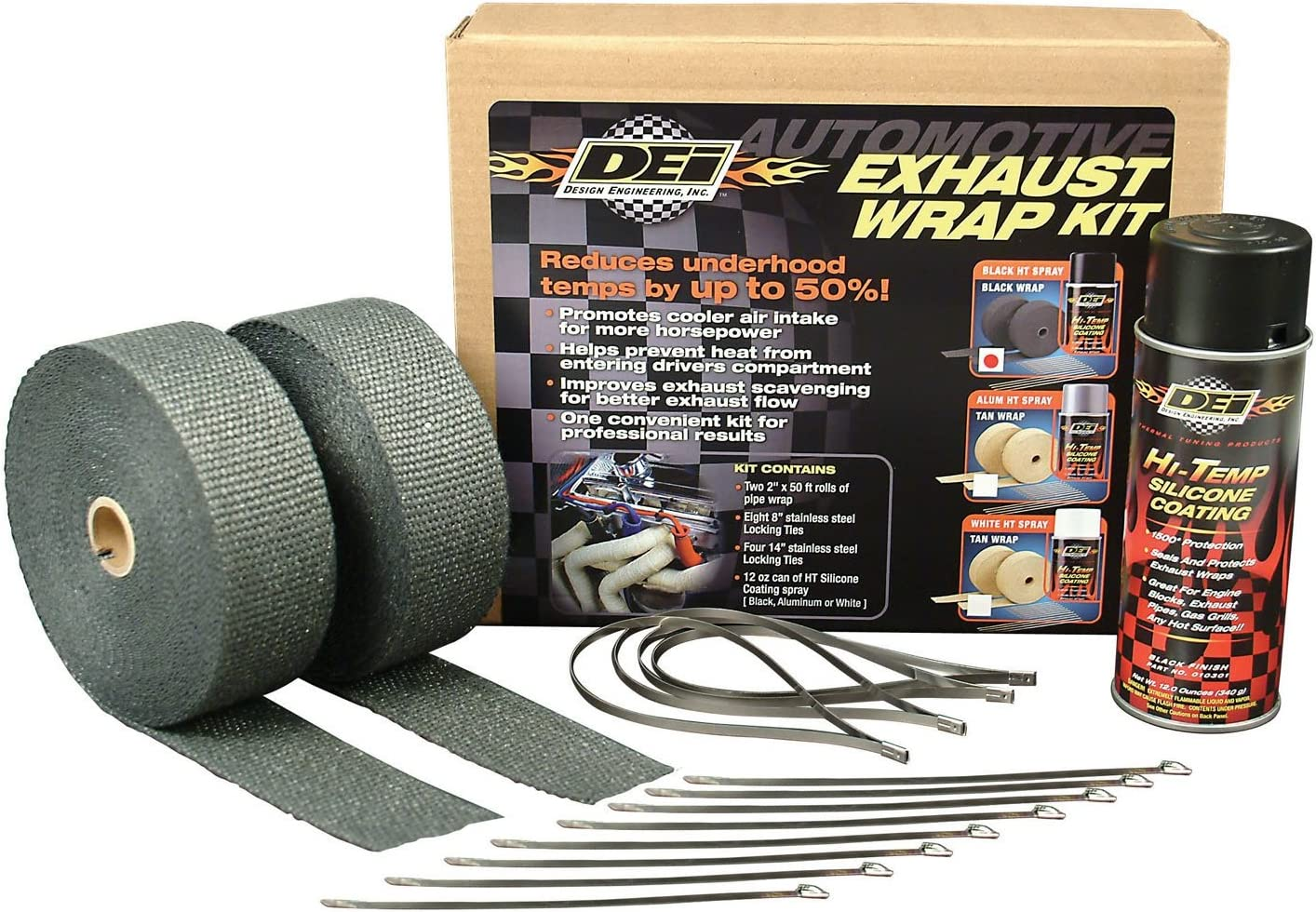 Design Engineering Exhaust / Header Wrap Kit