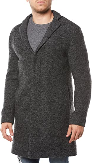 SELECTED HOMME Shdbrook Boucle Coat Abrigo para Hombre