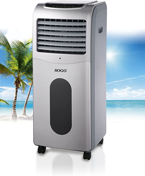 Sogo Climatizador móvil aire portátil 6.5L 105W: Amazon.es: Hogar