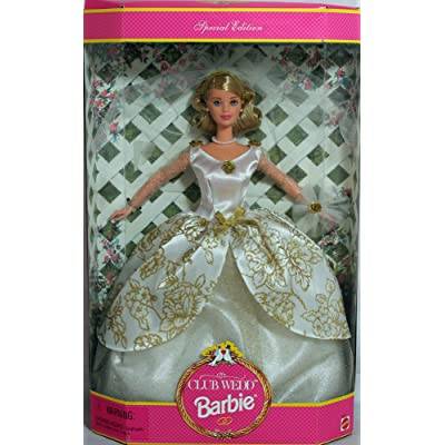 Mattel Barbie Club Wedd Blonde 1997 Doll: Toys & Games