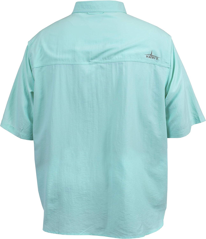 HABIT Mens Short Sleeve Travel Shirt