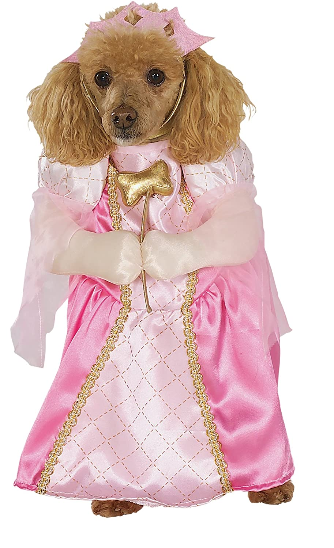 Pink Medium Pink Medium Rubies Costume Halloween Classics Collection Pet Costume, Pretty Princess, Medium