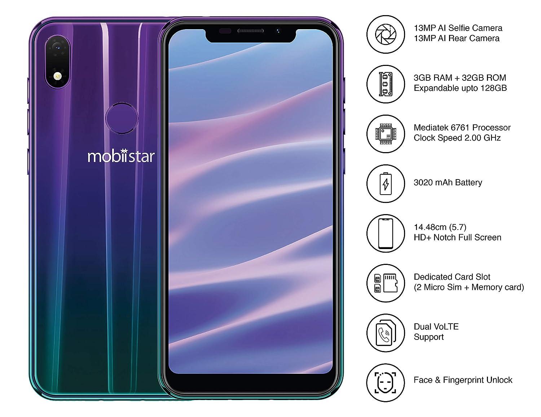 Mobiistar X1 Notch Gradient Shine (3GB-32GB)