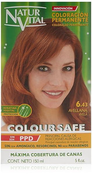 Amazon.com: Tinte de pelo permanente, coloursafe, sin ...