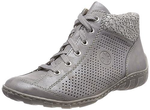 Rieker Damen M3737 Hohe Sneaker