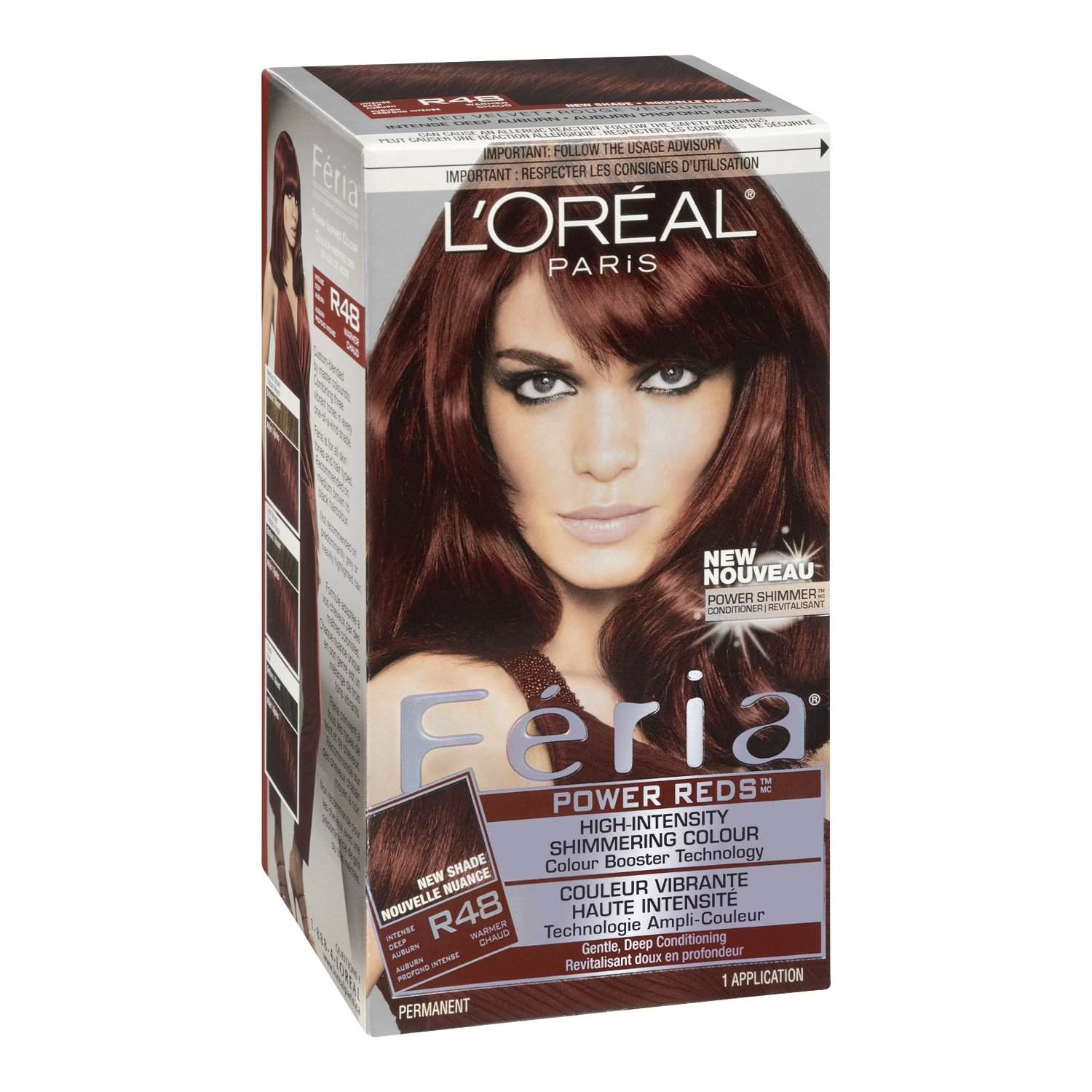 The look at home using l oreal paris feria smokey pastels in p2 smokey - Buy R48 Intense Deep Auburn Feria Power Reds Hair Color R48 Intense Deep Auburn Packaging May Vary Online At Low Prices In India Amazon In