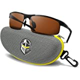 BLUPOND Polarized Sports Sunglasses for Men & Women Copper Lens for Driving, Fishing and Hiking