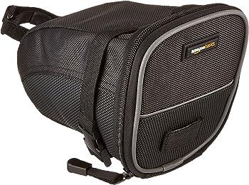 AmazonBasics Strap-On Wedge Small Saddle Bag for Cycling