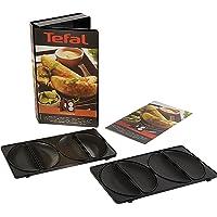 Tefal XA800812 Snack Collection Coffret de Plaque pour Empanadas avec Livre de Recettes 4,4 x 15,5 x 24,2 cm