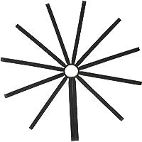 Umbra Fanfare Silicone Trivet (Set of 2) Black