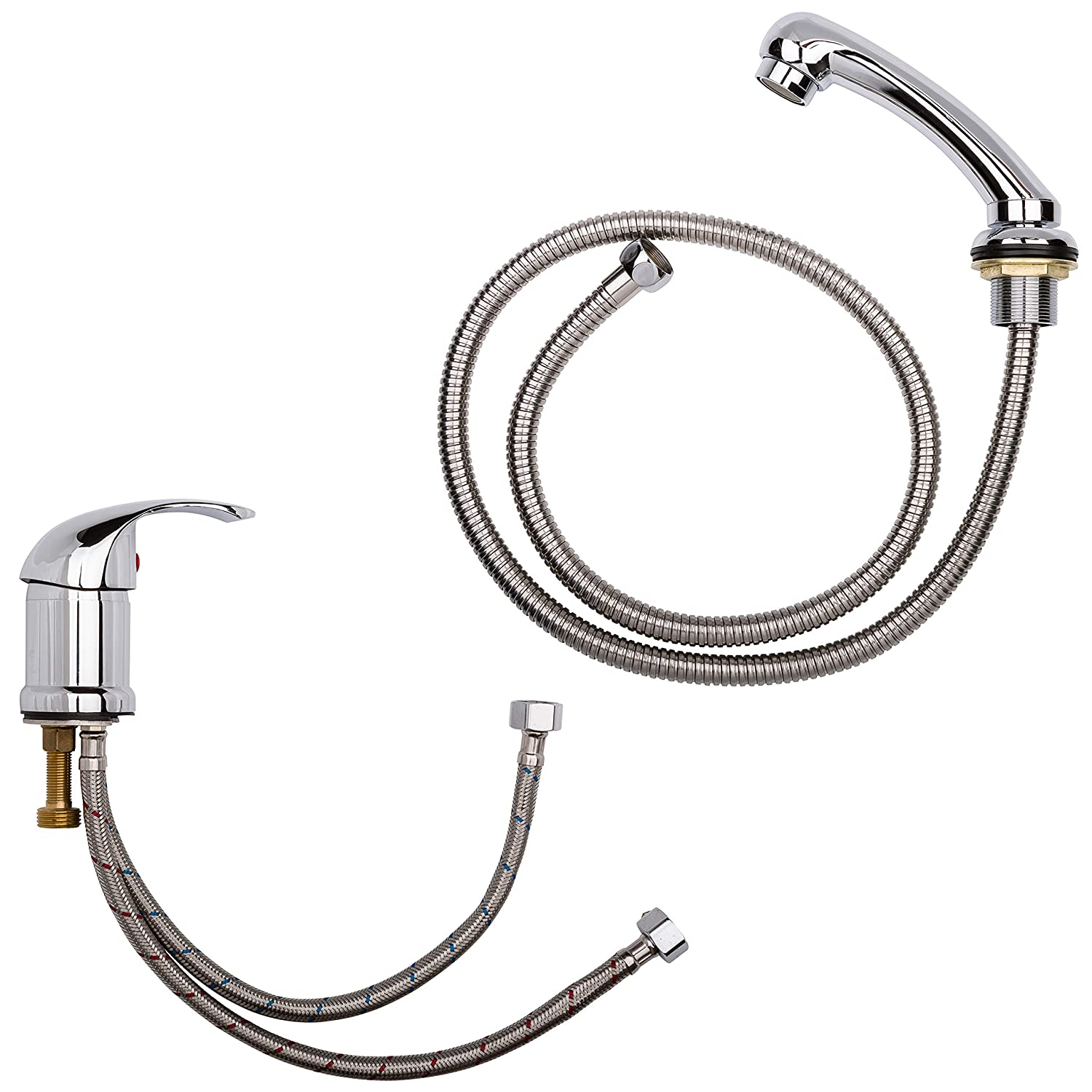 Staboos Professional Mixer tap and Hand Shower, Premium Quality Suitable for Most Hairdressers Washing Chairs and Reverse washers