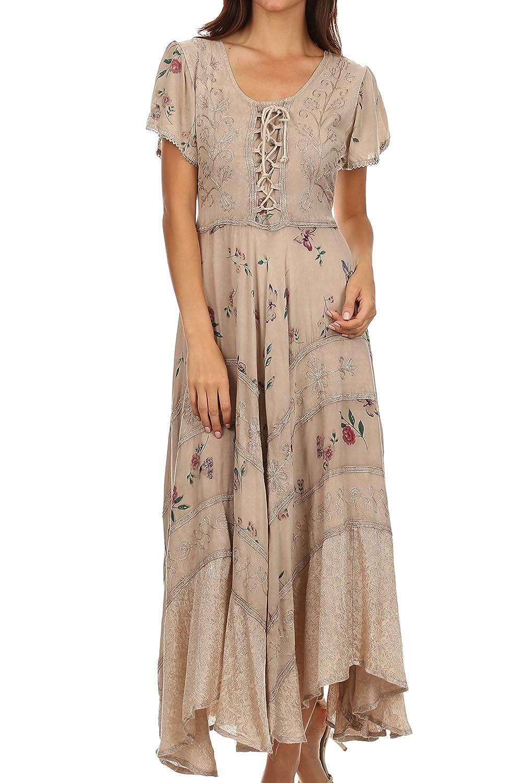 Sakkas Calliope Corset Style Dress
