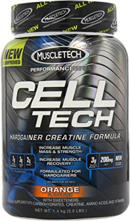 Muscletech Performance Series Cell-Tech Orange - 1400 gr ...