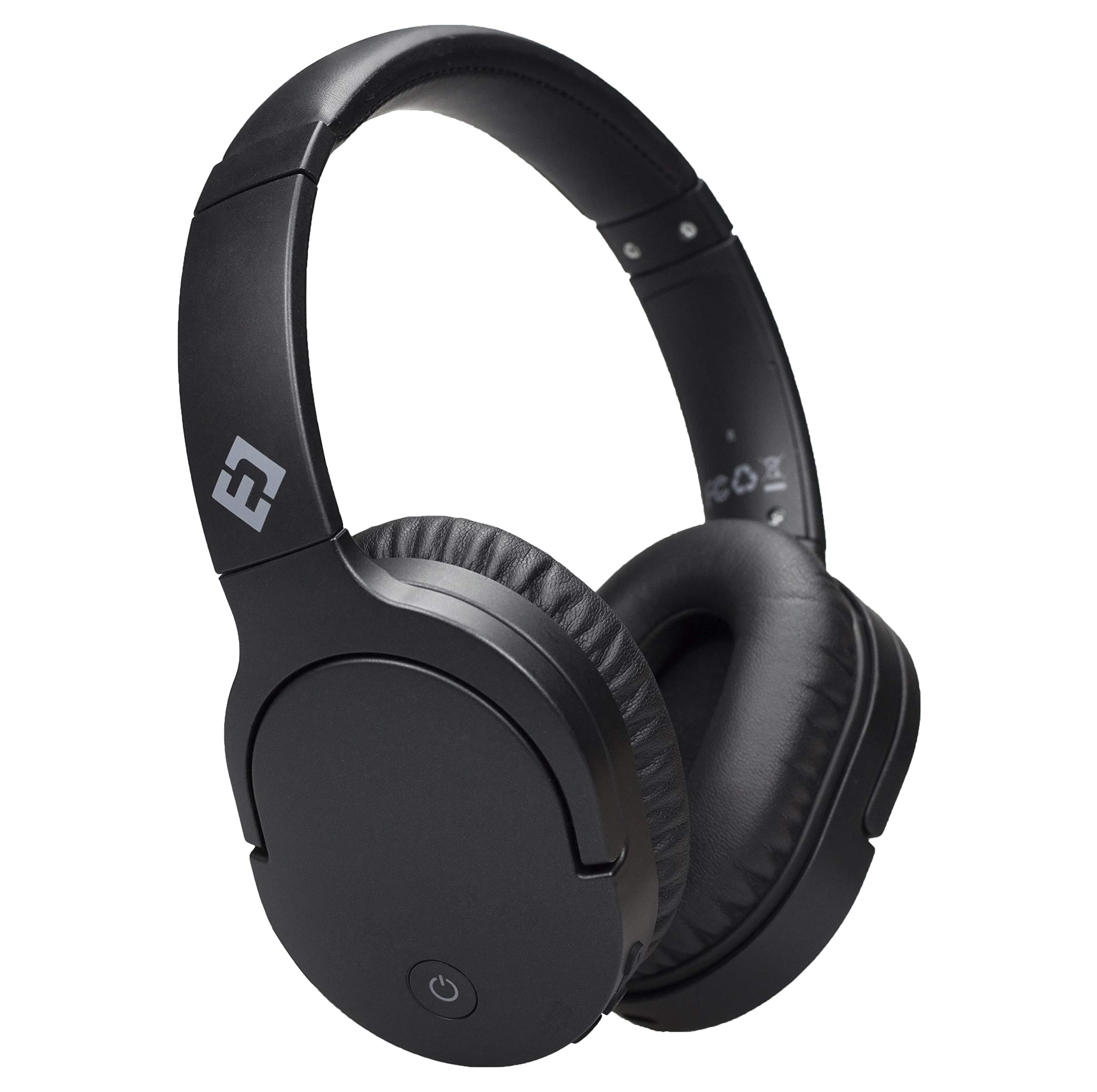 Auriculares Cancelacion de Ruido Activa Headset Bluetooth 4.1 Mic Inalambrico Con Cable Confortable Plegable Stereo ANC