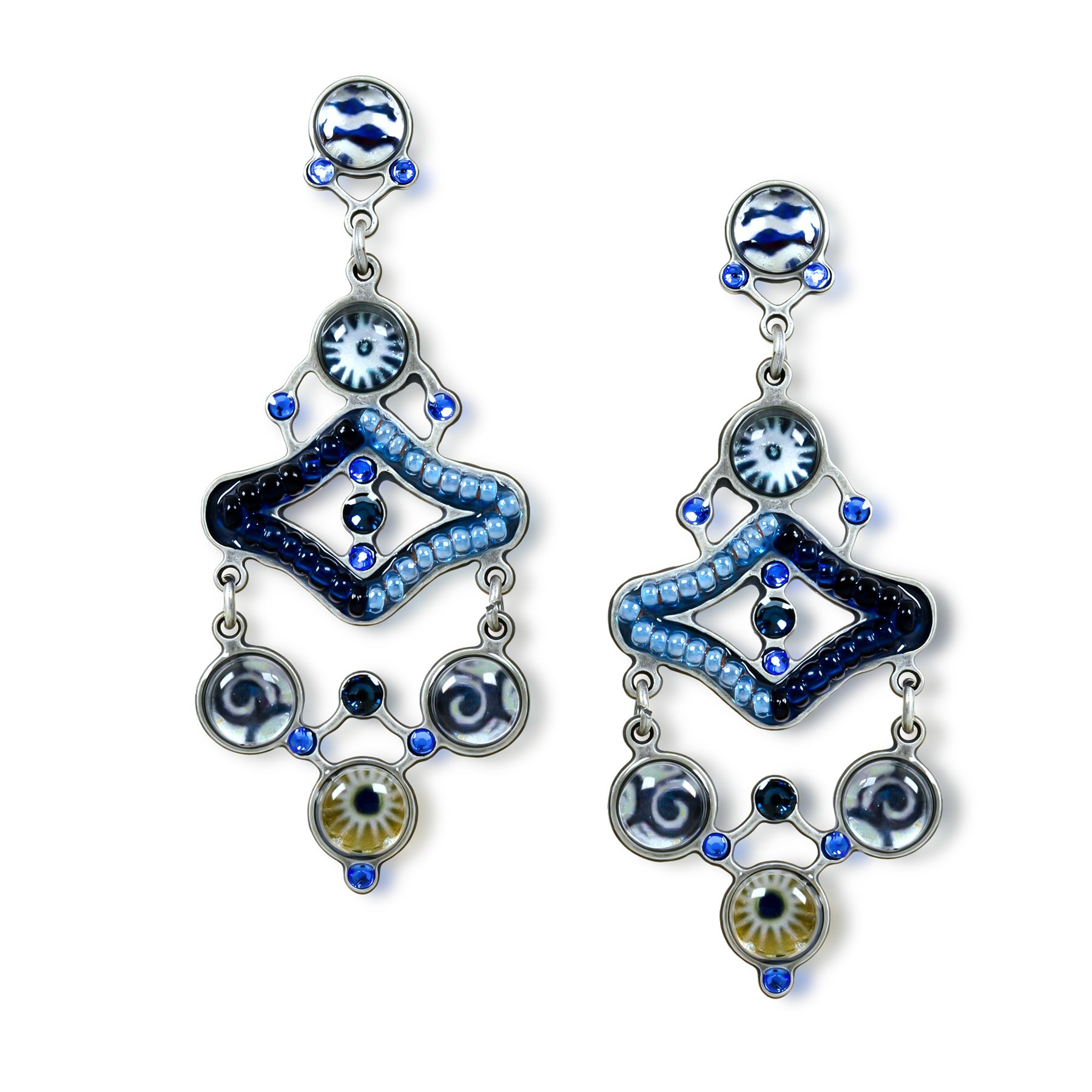 Starry-Night Fashion Earrings, Spring-Summer Collection from Artazia - E3705